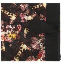 Dior Homme - - Floral Print Scarf - Men - Silk/cotton - One Size - Lyst