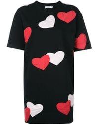 Anna K - Hearts T-shirt Dress - Lyst