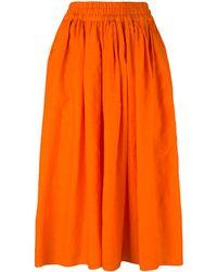 Aspesi - Elastic Waistband Skirt - Lyst
