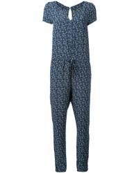 Woolrich - Short-sleeve Printed Jumpsuit - Lyst