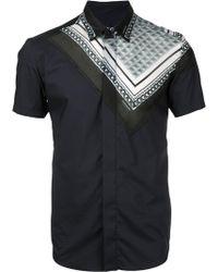 Yoshio Kubo - Printed Short Sleeve Shirt - Lyst