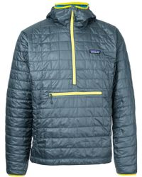 Patagonia - Padded Hooded Coat - Lyst