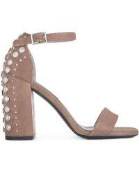 3a15dd78497 Gucci  Leila  Studded Platform Sandal in Black