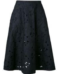 Aspesi | Embroidered Skirt | Lyst