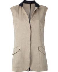 Osklen - Panelled Waistcoat - Lyst