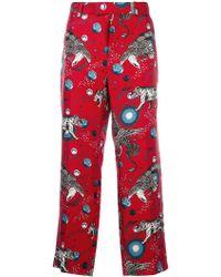 Gucci - Printed Pyjama Trousers - Lyst
