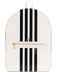 Thom Browne - Tennis Collection Contrast Bar Stripe Backpack - Lyst