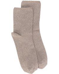 Erika Cavallini Semi Couture - Glitter Socks - Lyst