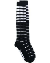 MSGM - Striped Socks - Lyst