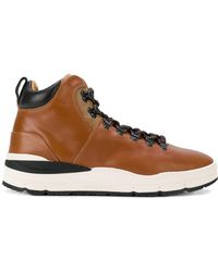 Woolrich - Panelled Mountain Boots - Lyst