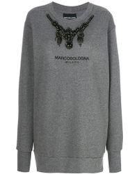 Marco Bologna - Embellished Sweatshirt - Lyst