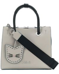 Karl Lagerfeld - Karry All Mini Shopper Bag - Lyst