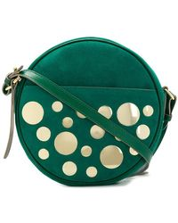 L'Autre Chose - Round Embellished Crossbody Bag - Lyst
