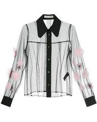 Tu Es Mon Tresor - Tulle Flower Shirt - Lyst