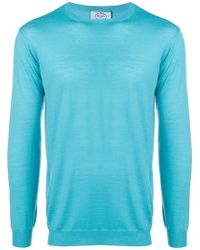 Prada - Long Sleeved Sweatshirt - Lyst