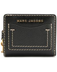 Marc Jacobs - The Grind Mini Compact Wallet - Lyst