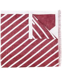 Armani Jeans - Patterned Scarf - Lyst