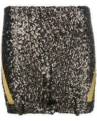 A.F.Vandevorst - Glitter Mini Skirt - Lyst