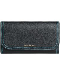 Burberry - Colour Block Continental Wallet - Lyst
