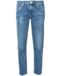 Citizens of Humanity - Cropped Slim Jeans - Lyst