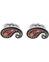 Etro - Paisley Embellished Cufflinks - Lyst