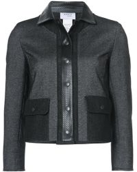 Akris Punto - Cropped Zipped Jacket - Lyst