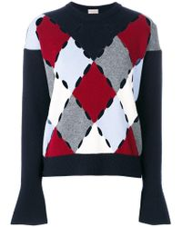 Mrz | Diamond Cut-out Detail Sweater | Lyst