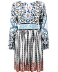 Mary Katrantzou - 'Kings' Seidenkleid - Lyst