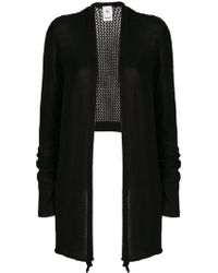 Lost and Found Rooms - Side Slit Cardigan - Lyst