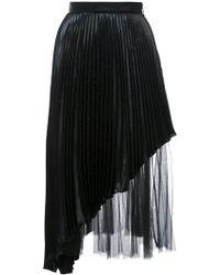 Christopher Kane - Pleated Midi Skirt - Lyst