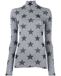 Gareth Pugh - Star Roll Neck Top - Lyst