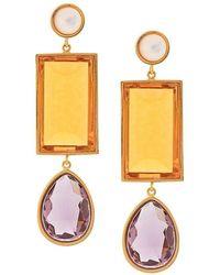 Lizzie Fortunato - Jewel Drop Earrings - Lyst