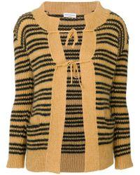 Sonia Rykiel - Stripe Knitted Cardigan - Lyst