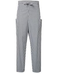 Maison Rabih Kayrouz - Striped Trousers - Lyst