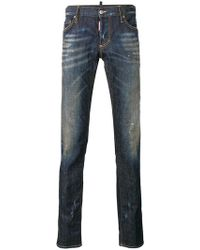 DSquared² - Slim Faded Jeans - Lyst
