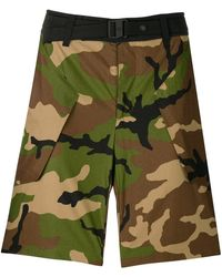 The North Face - Camouflage Fitted Shorts - Lyst