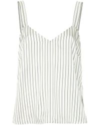 Nobody Denim - Silk Cami Fine Stripe - Lyst