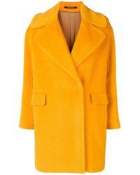 Tagliatore - Soft Textured Style Coat - Lyst