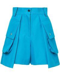 Sacai - Shorts de talle alto tipo cargo - Lyst