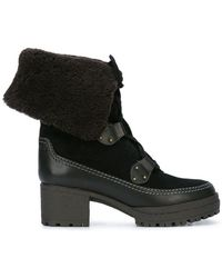See By Chloé - Shearling Lined Boots - Lyst