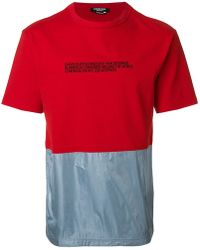 CALVIN KLEIN 205W39NYC - Contrasting T-shirt - Lyst