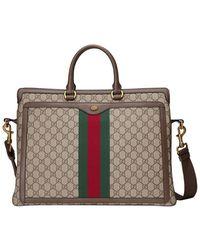 Gucci - 'Ophidia' Aktentasche mit GG - Lyst