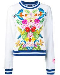 Manish Arora - Tropical Print Sweatshirt - Lyst