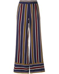 Roberto Collina | Striped Trousers | Lyst