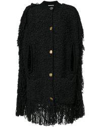 Sonia Rykiel - Fringed Coat - Lyst