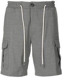 Eleventy | Drawstring Cargo Shorts | Lyst