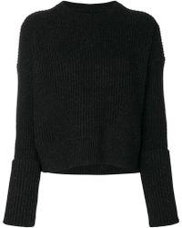 AllSaints - Pierce Crew Neck Sweater - Lyst