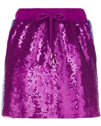 Alberta Ferretti - Rainbow Week Skirt - Lyst