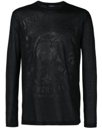 DSquared² - Eagle Print Top - Lyst