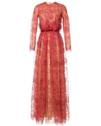 Costarellos - Lace Gown - Lyst